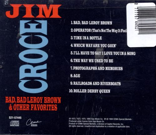 Bad, Bad Leroy Brown & Other Favorites [CEMA]