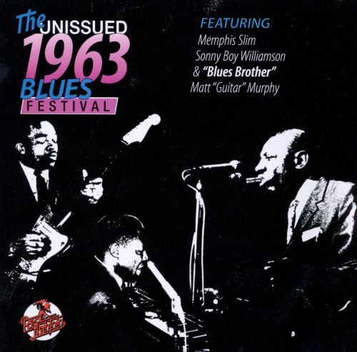 The Unissued 1963 Blues Festival