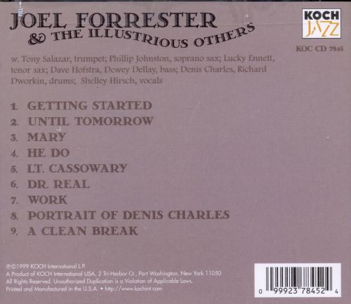Joel Forrester & Illustrious Others: Pre Microscopic Music Circa 1980