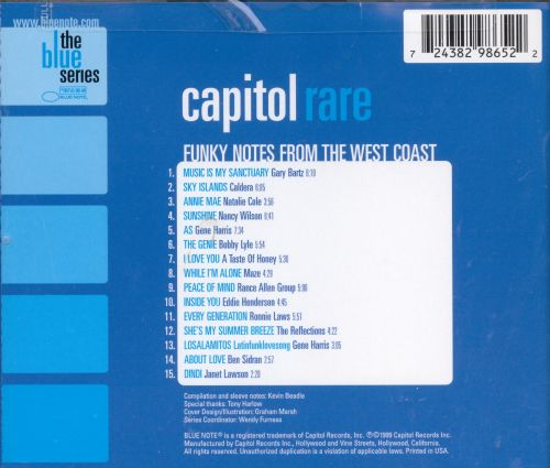 Capitol Rare: Funky Notes from the West Coast