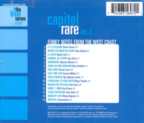 Capitol Rare, Vol. 2: Funky Notes from the West Coast