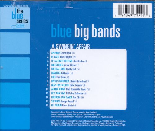 Blue Big Bands: A Swingin' Affair