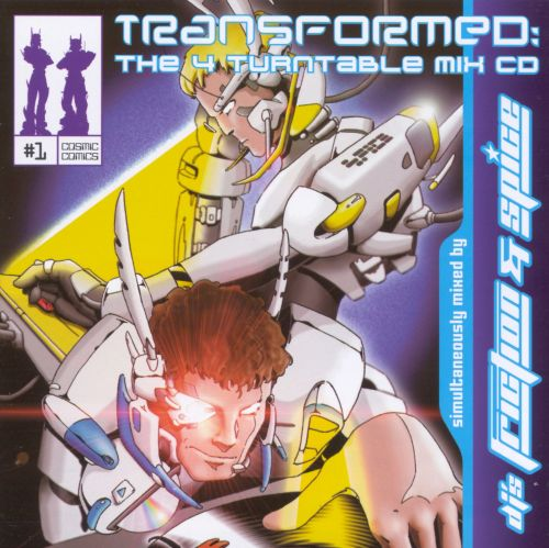 Transformed: The 4 Turntable Mix CD