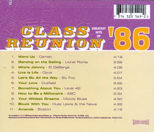 Class Reunion: The Greatest Hits of 1986