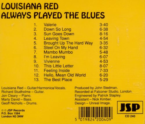 Always Played the Blues