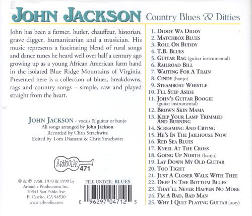 Country Blues & Ditties