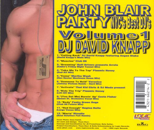 John Blair Party CD: NYC's Best DJ's, Vol. 1