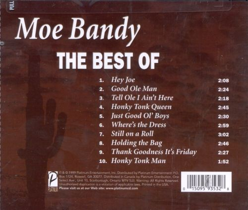The Best Of Moe Bandy Intersound Moe Bandy Songs Reviews