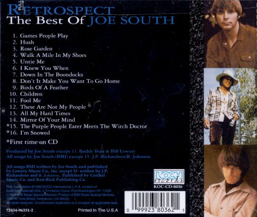 Best of Joe South: Retrospect