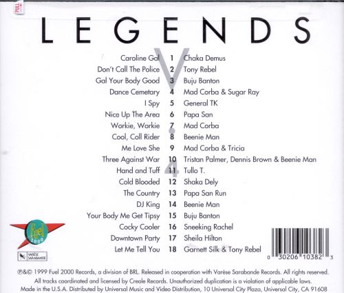 Legends, Vol. 4: The Essential Ragga Collection