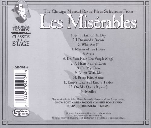 Selections from Les Miserables