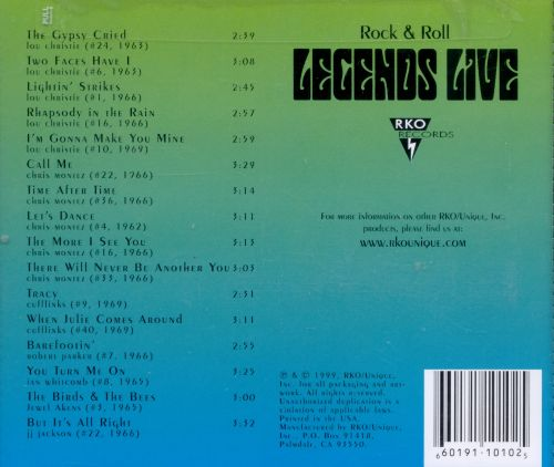 Legends Live: Lou Christie & Friends