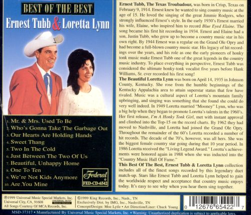 Best of the Best of Ernest Tubb