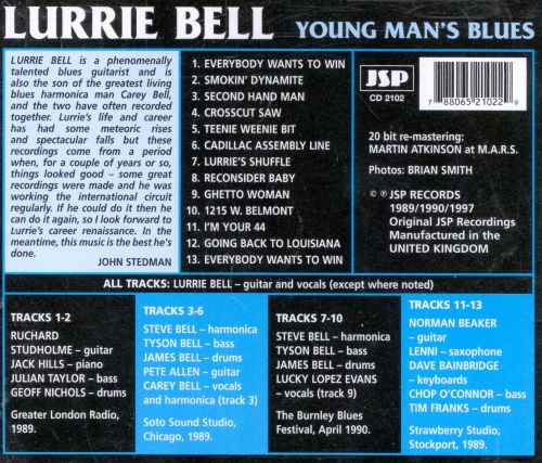 Young Man's Blues: The Best of the JSP Sessions (1989-1990)