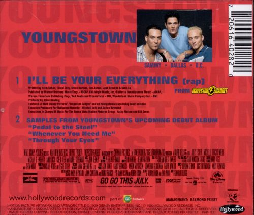 I'll Be Your Everything [Sweden CD Single]