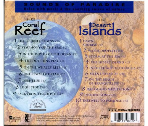 Sounds of Paradise: Desert Islands, Coral Reef