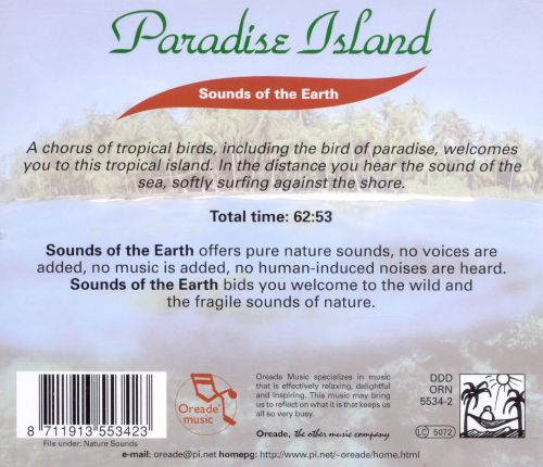 Sounds of the Earth: Paradise Island