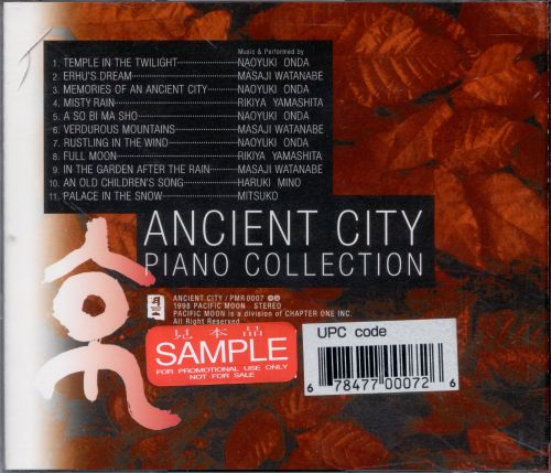 Ancient City: Piano Collection