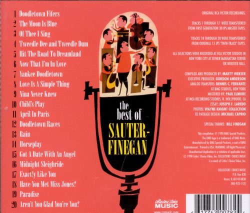 The Best of the Sauter-Finegan Orchestra
