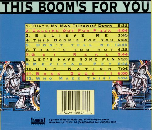 This Boom's for You, Vol. 2