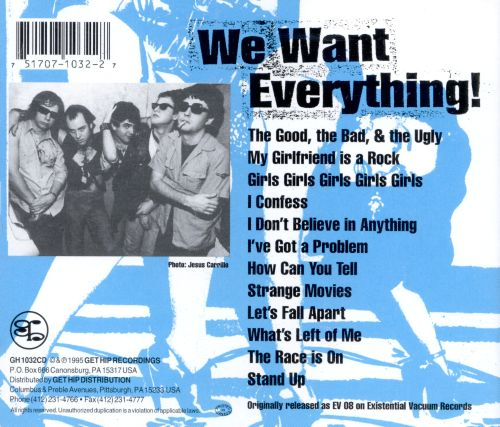We Want Everything