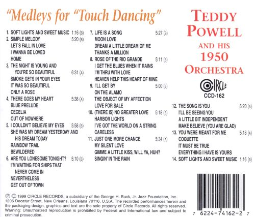 Medleys for Touch Dancing