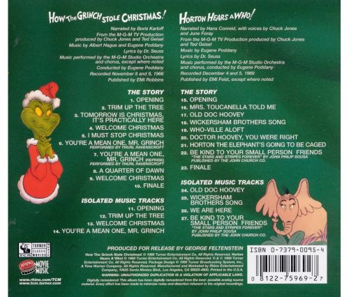 How The Grinch Stole Christmas/Horton Hears A Who