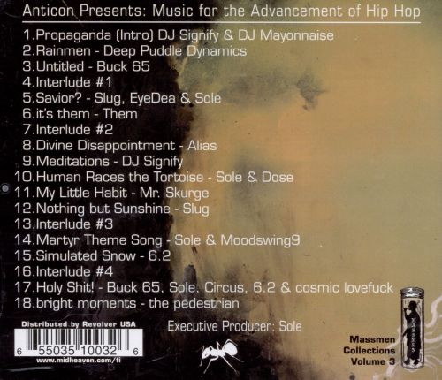 Music for the Advancement of Hip Hop
