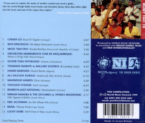 Rough Guide to the Music of Africa