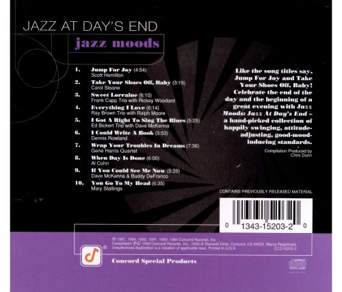 Jazz Moods: Jazz at Day's End