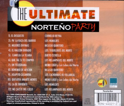 The Ultimate Norteno Party