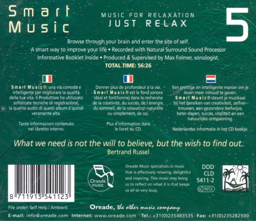 Smart Music, Vol. 5: Just Relax