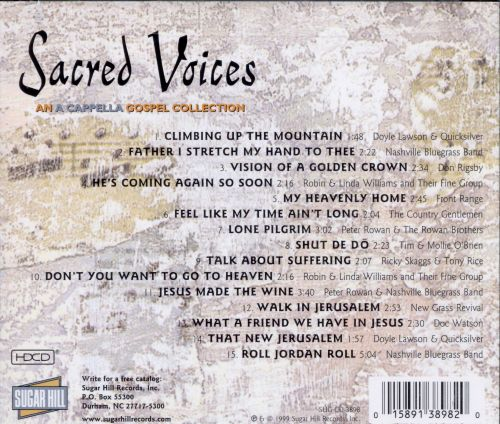 Sacred Voices: An A Capella Gospel Collection