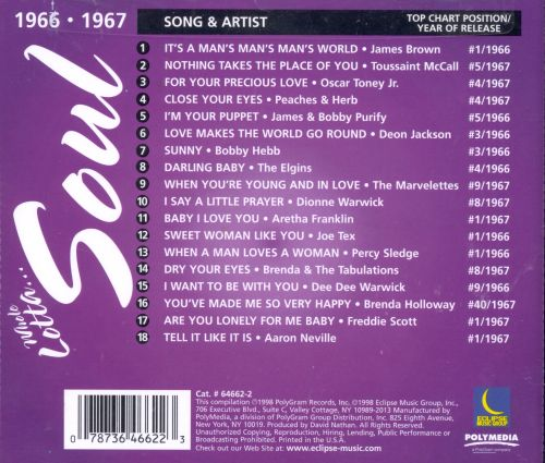 Whole Lotta Soul 1966-1967 - Various Artists   Releases