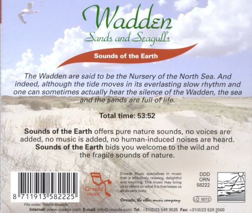 Sounds of the Earth: Wadden - Sands & Seagulls