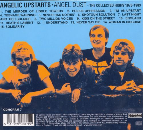 Angel Dust: The Collected Highs 1978 to 1983