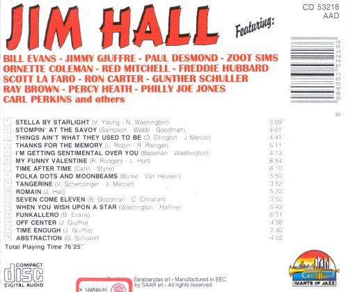 Jim Hall [Giants of Jazz]
