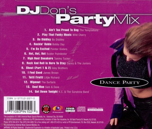 DJ Don's Party Mix: Dance Party