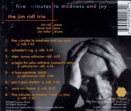 Five Mintues to Madness & Joy