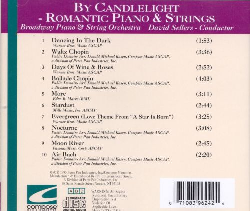 By Candlelight Piano & Strings