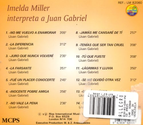 Interpreta a Juan Gabriel