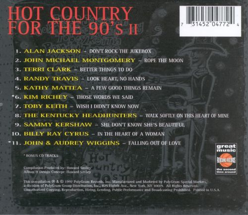 Hot Country for the 90's, Vol. 2