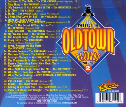 Spotlite on Old Town Records, Vol. 2