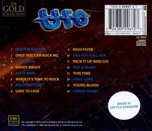Best of UFO: Gold Collection