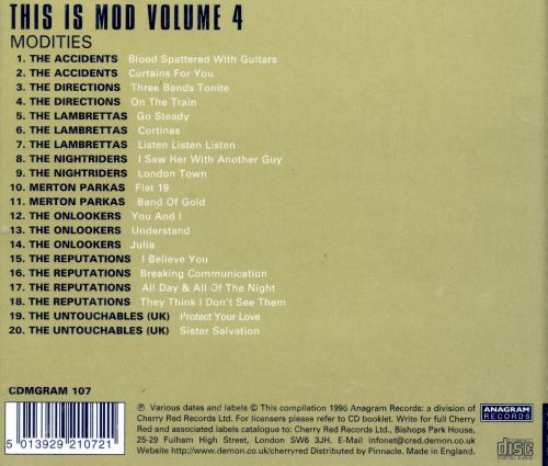 This Is Mod, Vol. 4: Modities