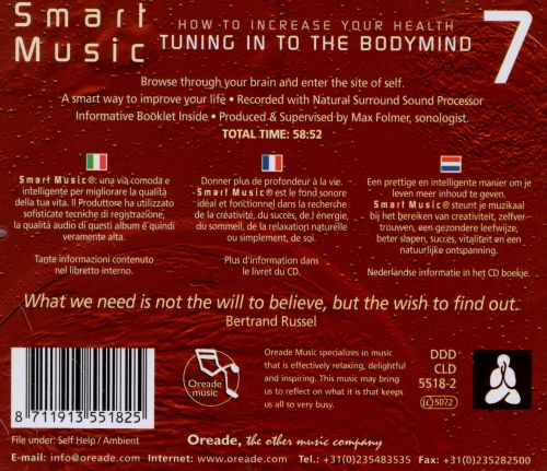 Smart Music, Vol. 7: Tuning Into The Bodymind