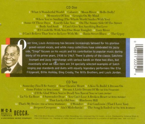 Louis Armstrong Sings: Back Through the Years (A Centennial Celebration)