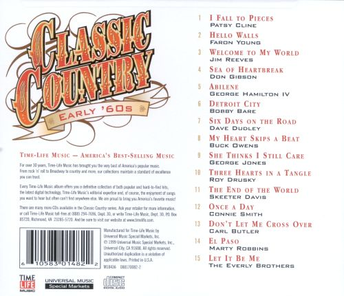 Classic Country: Early '60s
