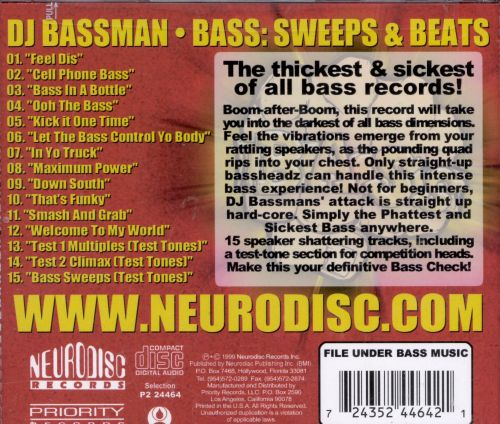 Bass: Sweeps and Beats