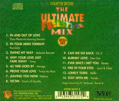 Ultimate Freestyle Mix, Vol. 3